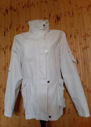 Куртка ветровка белая  snow grace