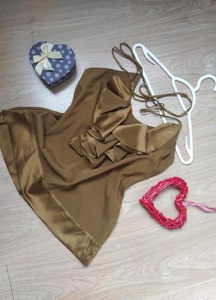 Эксклюзивная шелковая блуза / топ / 94% шелк / hale bob
