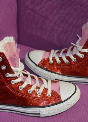 Яркие модные кеды converse all star