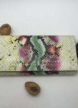 Кожаный женский кошелек danica