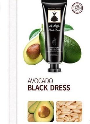 Парфюмированный крем для рук bioaqua black dress