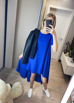 Платье мини миди