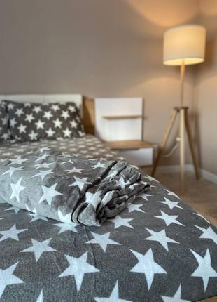 Велюровый комплект постельного белья