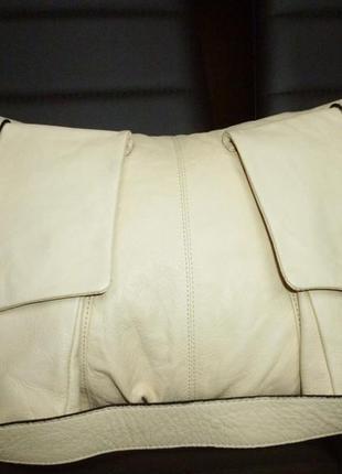 Стильная обьемная сумка натуральная кожа lupo