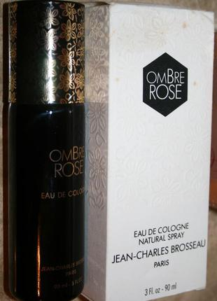 Редкость! винтаж духи  jean charles brosseau ombre rose, 90 мл