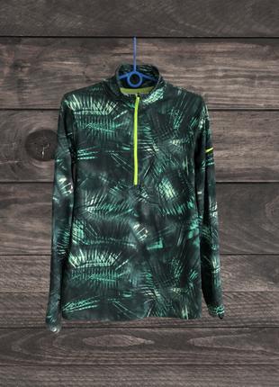 Жіноча спортивна бігова кофта nike pro warm dri-fit run, (р. l)