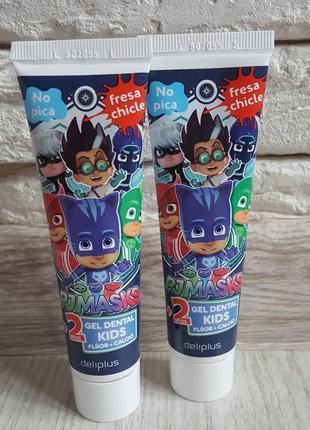 Mercadona испания зубной гель герои в масках