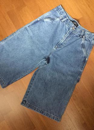 Удлиненные джинсовые шорты на мальчика logg