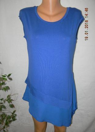 Новая трикотажная блуза-туника