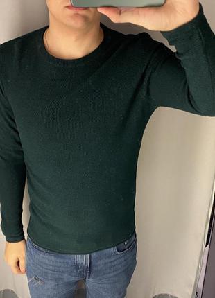 Хлопковый изумрудный свитер smog есть размеры