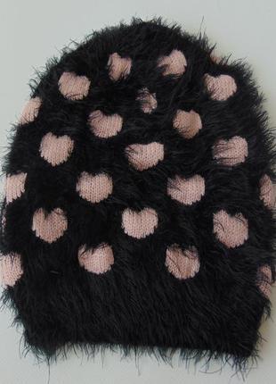 Детская шапка бини, травка, takko fashion, 8-15 лет.