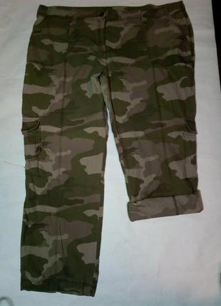 Камуфляжные брюки, большой размер.