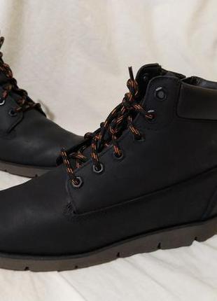 Ботинки кожаные timberland оригинал кожа