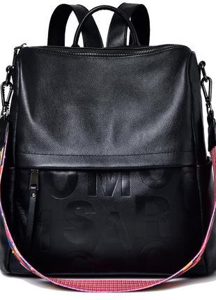 Рюкзак сумка женский кожаный городской. рюкзак трансформер из ...