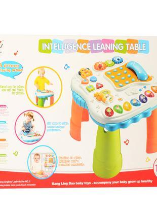 Развивающий музыкальный детский игровой центр столик