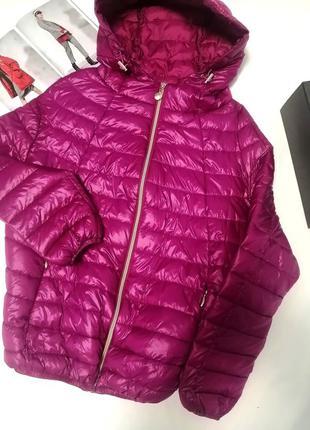 Нова курточка малинового кольору