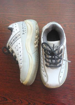 👶детские кроссовки, размер 25