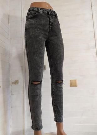Классные высокие джинсы 29\32