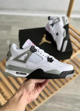 Jordan 4 🍏 стильные мужские кроссовки найк джордан 4