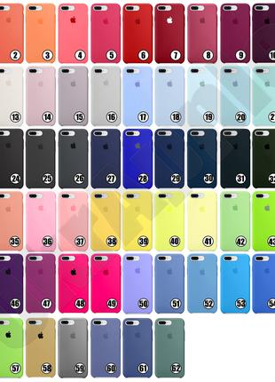 Чехол Silicone Case iPhone 6/6+/7/8/7+/8+/X/XR/XS/XS MAX/11/11Pro