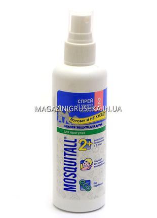 Mosquitall Нежная защита для детей спрей от комаров 100 мл