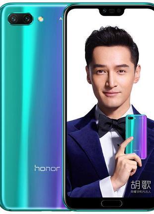 Смартфон Honor 10 4/128Gb blue сенсорный мобильный телефон на ...