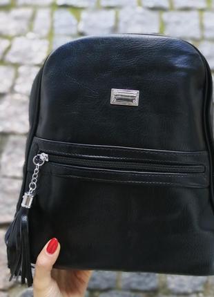 Женская черный рюкзак