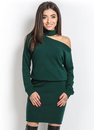 Модное женское платье ангоровое