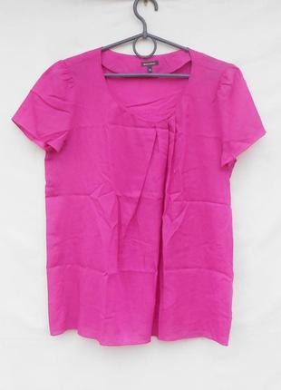 Летняя легкая блузка с коротким рукавом