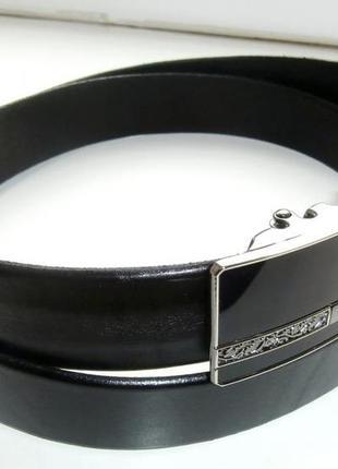 Кожаный шикарный ремень пряжка автомат