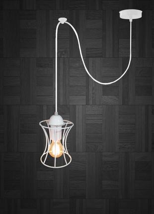 Подвесной светильник на 1-лампу SANDBOX/SP-W E27 белый