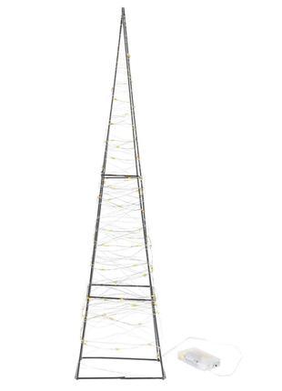 Металлическая фигура Пирамида Melinera 80 LED 60 см