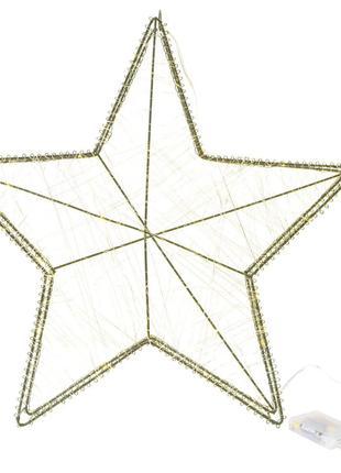 Металлическая фигура Звезда Melinera 80 LED 40 см