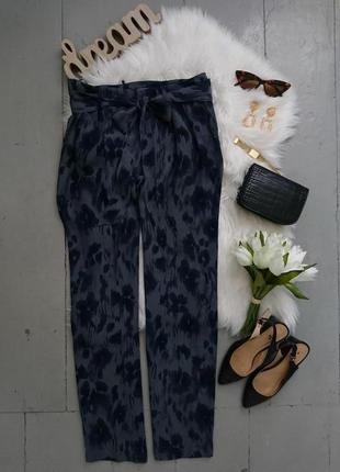 Актуальные легкие летние зауженные брюки №354 per una