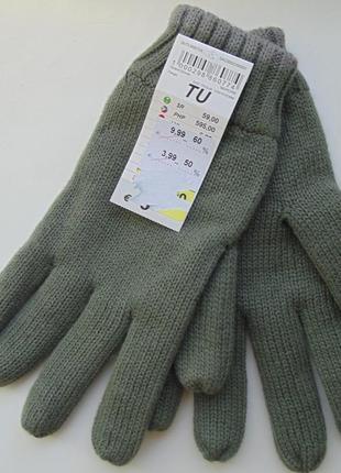 Перчатки на флисе terranova италия