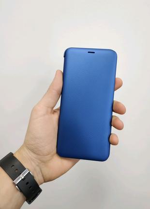Новый оригинальный чехол-книжка для Samsung Galaxy A6+ (A605)