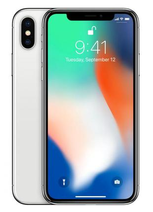 Apple iPhone X 256Gb Silver Б/У