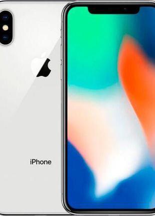 Apple iPhone X 64Gb Silver (Б/У)