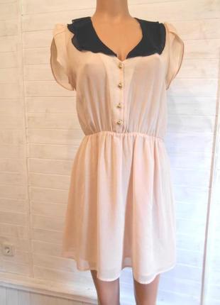 Красивое летнее легкое платье