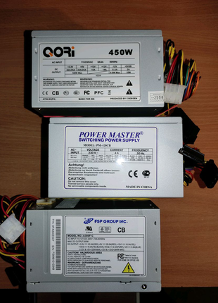ATX Блоки питания для ПК (FSP, QORI, Power Master)