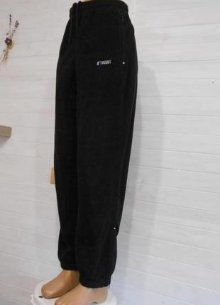 Теплый плюшевые штаны спортивные или прогулочные m\l