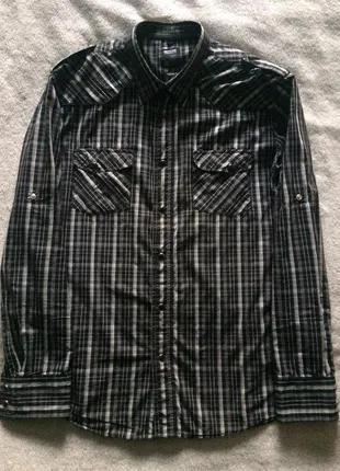 Приталенная мужская рубашка New Yorker (Германия)