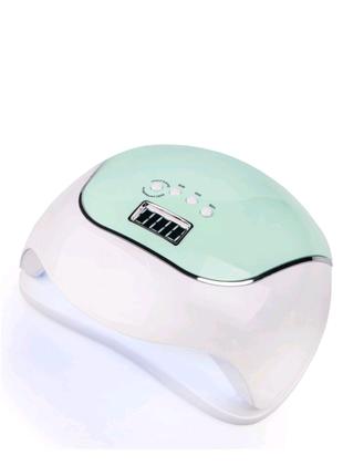 Reybl led+uv світлодіодна лампа sun bq-v5 macaroon green, 120 bt