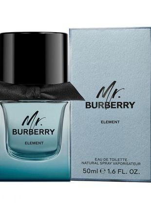 Туалетная вода BURBERRY Mr.Burberry Element 50 мл