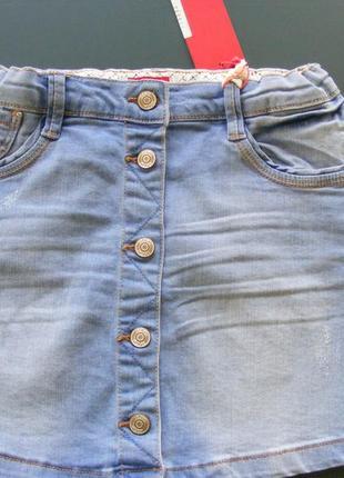 Юбка джинсовая на пуговицах s. oliver
