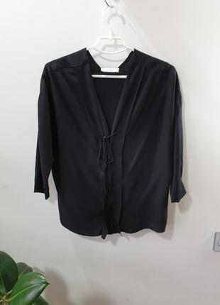 Блуза 100% шёлк sandro paris
