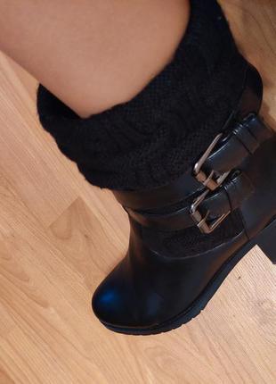 Ботинки осень-зима эко- кожа