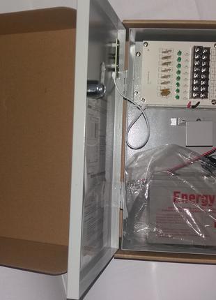 ББП для систем видеонаблюдения - ВВG-1210/8, 10А, место под АКБ 7