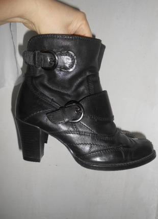 Ботинки  кожа, tamaris,р-р 36