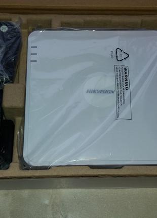 Новый, 3МП регистратор - HIKVISION DS-7104HQHI-K1, HD-TVI.
